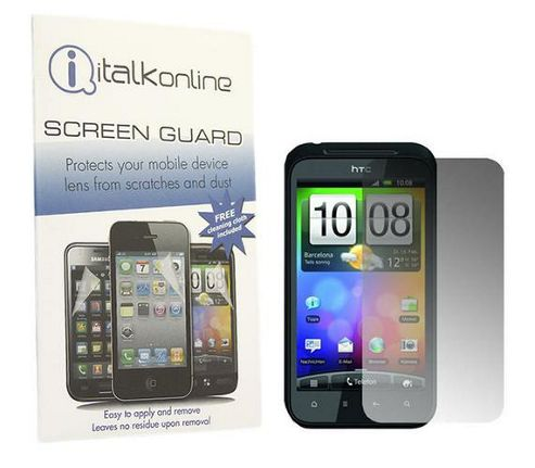 iTALKonline S-Protect LCD Screen Protector and Micro Fibre Cleaning Cloth - For  HTC Incredible S