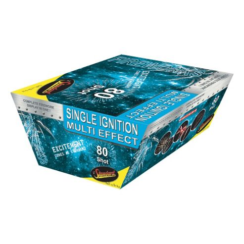 Single Ignition 80 Shot Firework