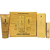 Paco Rabanne 1 Million Special Travel Edition Gift Set 100ml EDT + 10ml EDT Travel Spray + 100ml Shower Gel For Men