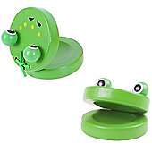 Bigjigs Toys Animal Castanets (One Pair - Frog)