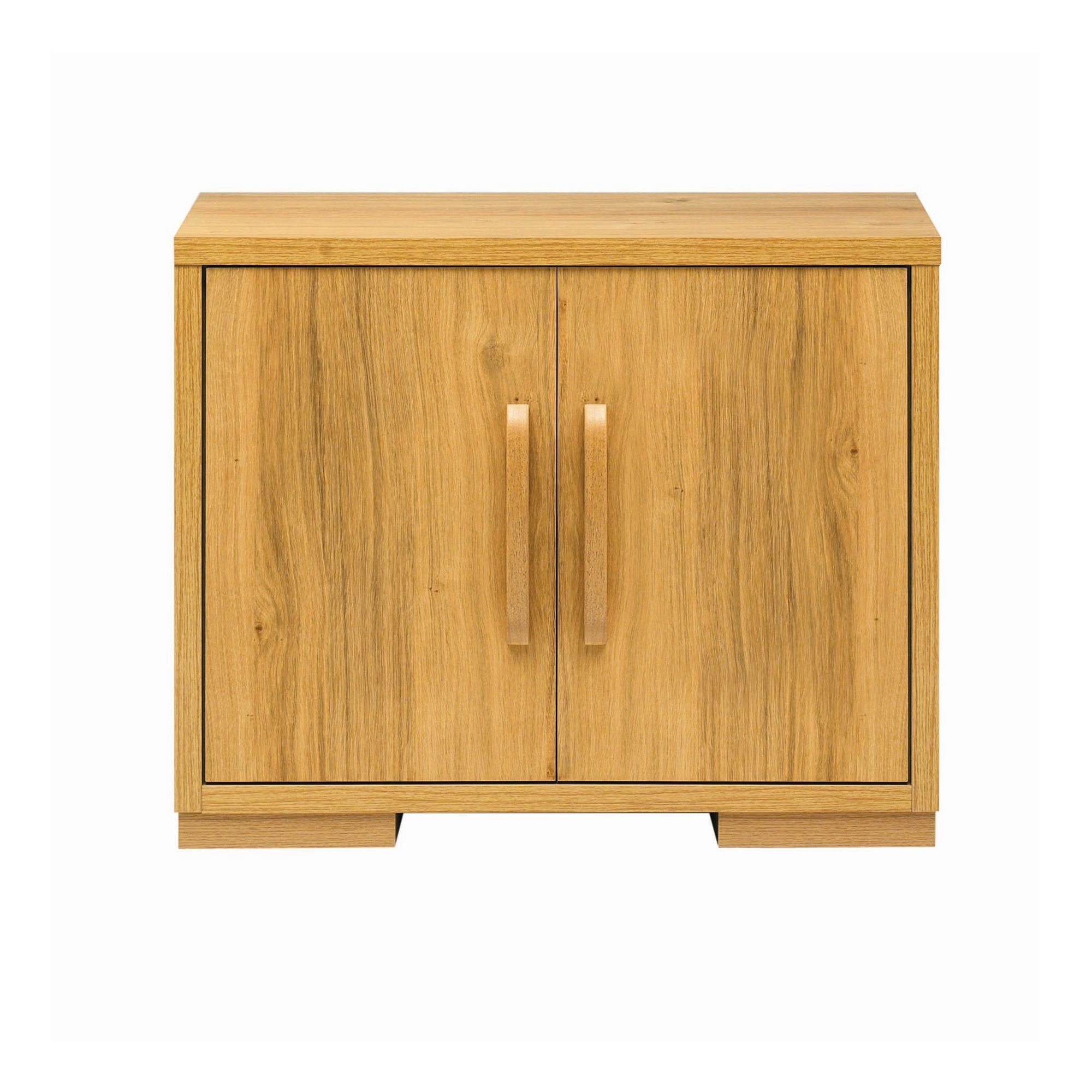 Caxton Strand Two Door Cupboard in Oak at Tesco Direct