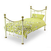 MetalBedsLtd Oxford Bed - Single - Ivory