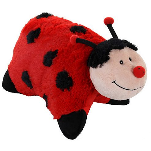 Pillow Pets Ladybird Soft Toy