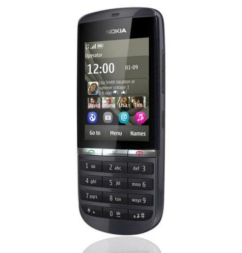 Nokia Asha 300 Mobile Phone (Graphite)