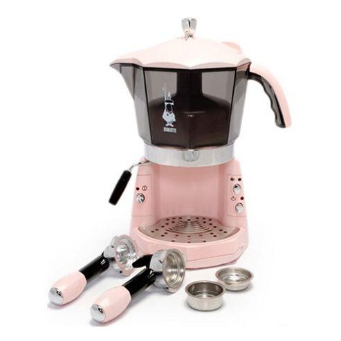 La Cafetiere Bialetti Mokona Coffee Machine in Pink