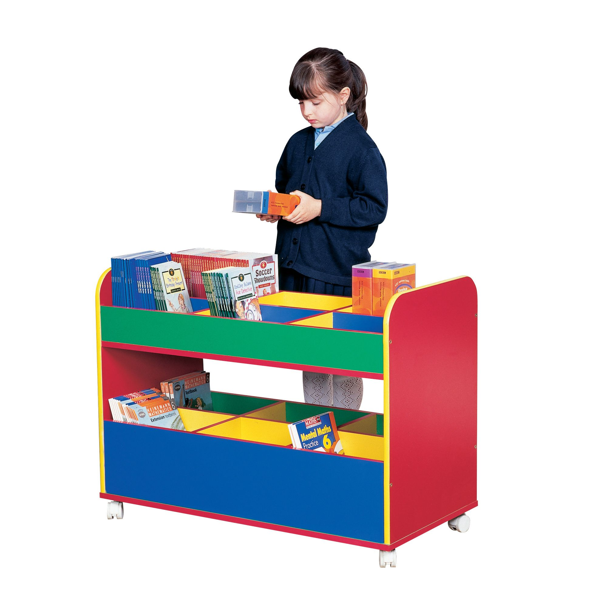 Liberty House Toys Primary Coloured Mobile Double Decker at Tesco Direct