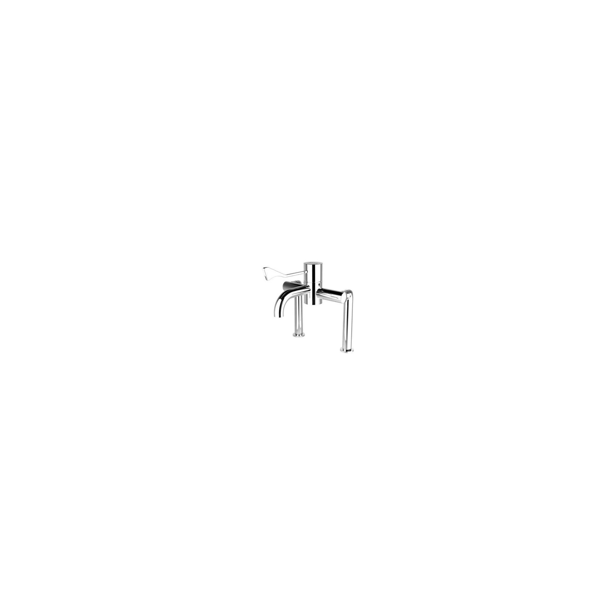 HTM64 Safe Touch Extended Deck Mounted Thermostatic Sequential Tap at Tesco Direct