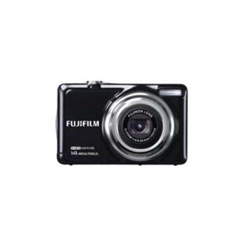 Fujifilm FinePix JV500 Digital Camera, Black, 14MP, 3x Optical Zoom, 2.7 inch LCD