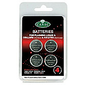 Canac Batteries For Leads & Collars (4 Pk) Large