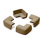 Prince Lionheart Cushiony Corner Guards Pack of 4 Chocolate