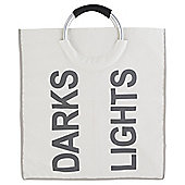 Russel Oyster Darks & Lights Double Laundry Basket