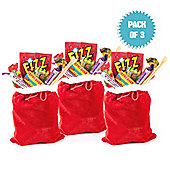 Santa's Sweet Sack (pack of 3)