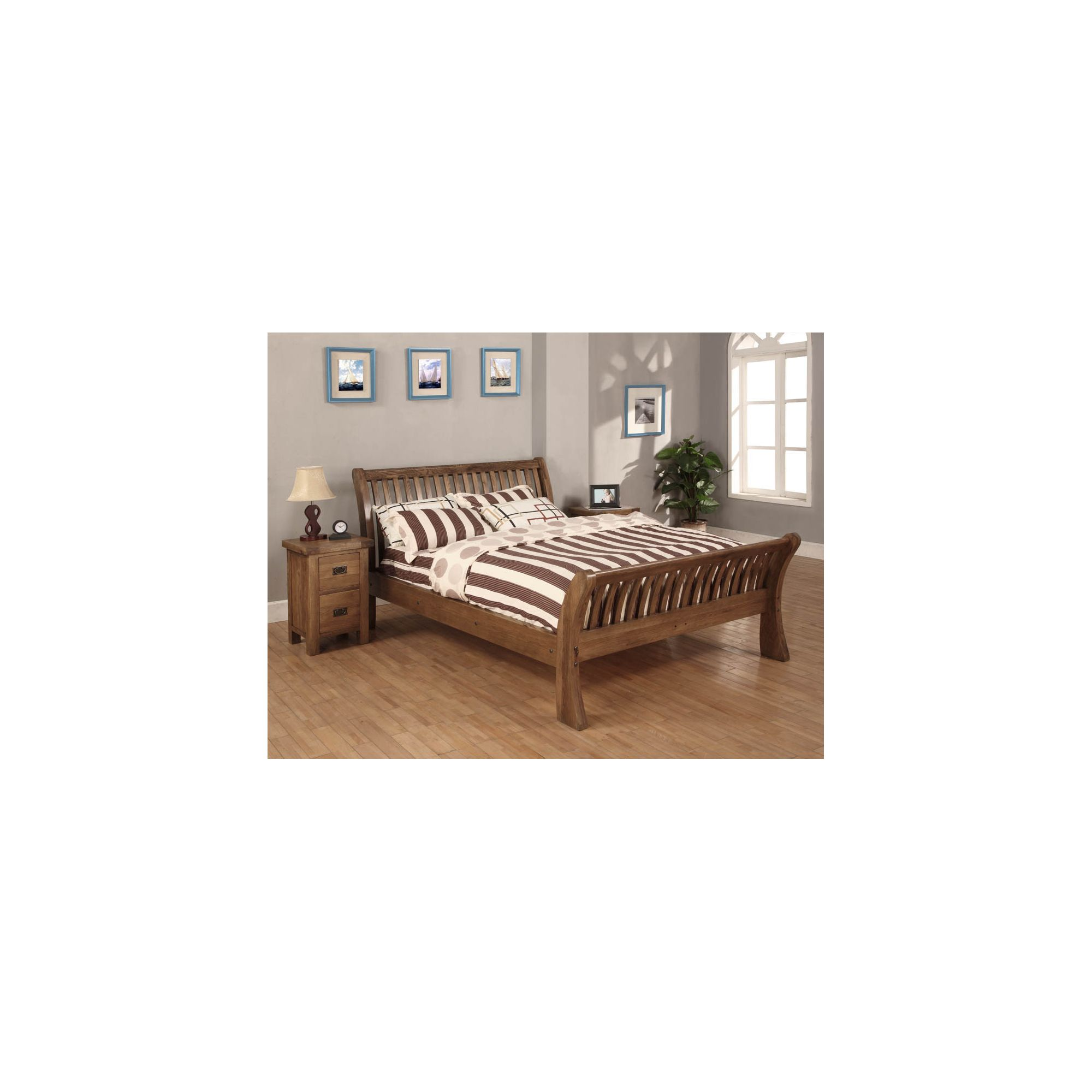 Hawkshead Brooklyn Bed Frame - 4' 6'' Double at Tesco Direct