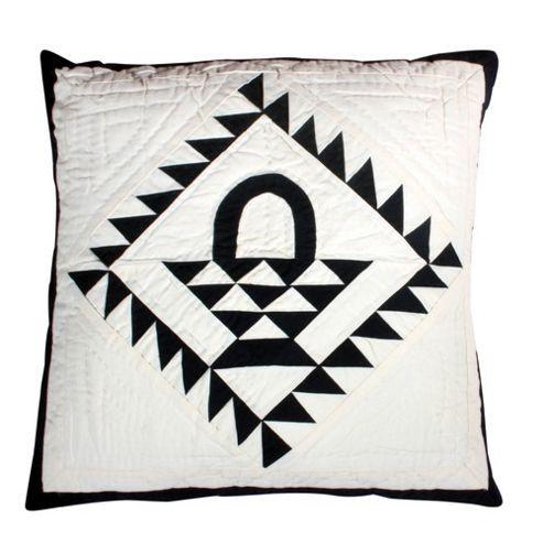 Woven Magic Country Basket Navy Cushion