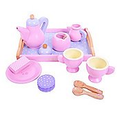 Bigjigs Toys Candy Floss Tea Tray Set