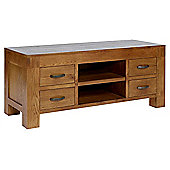 Rustic Grange Santana Rustic Oak TV Stand for up to 50 inch TVs