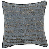 McAlister Denim Textured Chenille Cushion Cover - 43x43cm