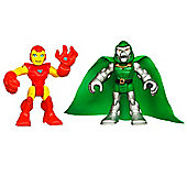 Playskool Heroes Super Hero Adventures Iron Man And Doctor Doom