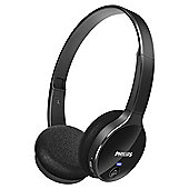 Philips SHB400 Overhead Wireless Bluetooth Headphones Black
