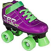 SFR Vision GT Blue Kids Quad Roller Skates - Purple