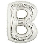 40' Silver Letter - B (each)