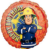 "Fireman Sam Balloon - 18"" Foil (each)"