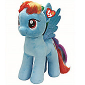 "TY 16"" Plush My Little Pony Rainbow Dash Large Buddy"