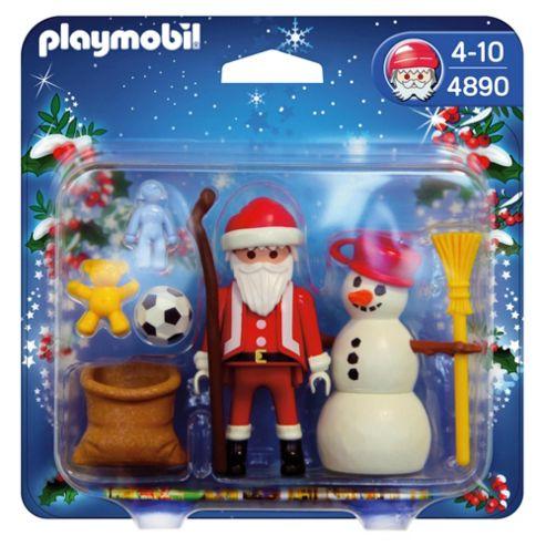 Playmobil 4890 Santa Claus with Snowman