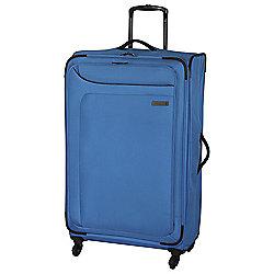 IT Luggage Megalite 4-Wheel Suitcase, Methyl Blue Large