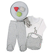 Minene 4 Piece Gift Set Grey  White