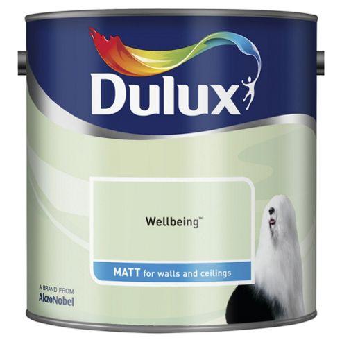 Dulux Matt Emulsion Paint, Wellbeing, 2.5L