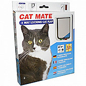 Cat Mate 4 Way Lock Cat Flap (309w)
