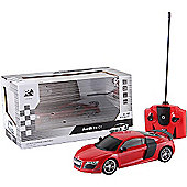 1:14 Remote Control Car - Red Audi R8 GT