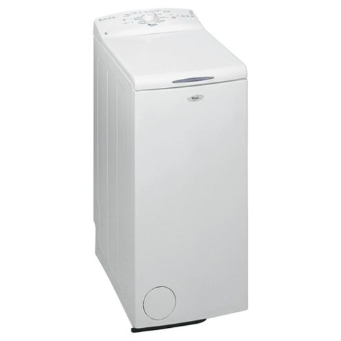 Whirlpool AWE6760 Washing Machine, 6kg Wash Load, 1000 RPM Spin, A+ Energy Rating. White