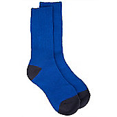 Double Layer Kids Socks - Blue