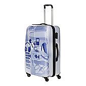 Linea X Ray Colour 4 Wheel Hard Large Suitcase