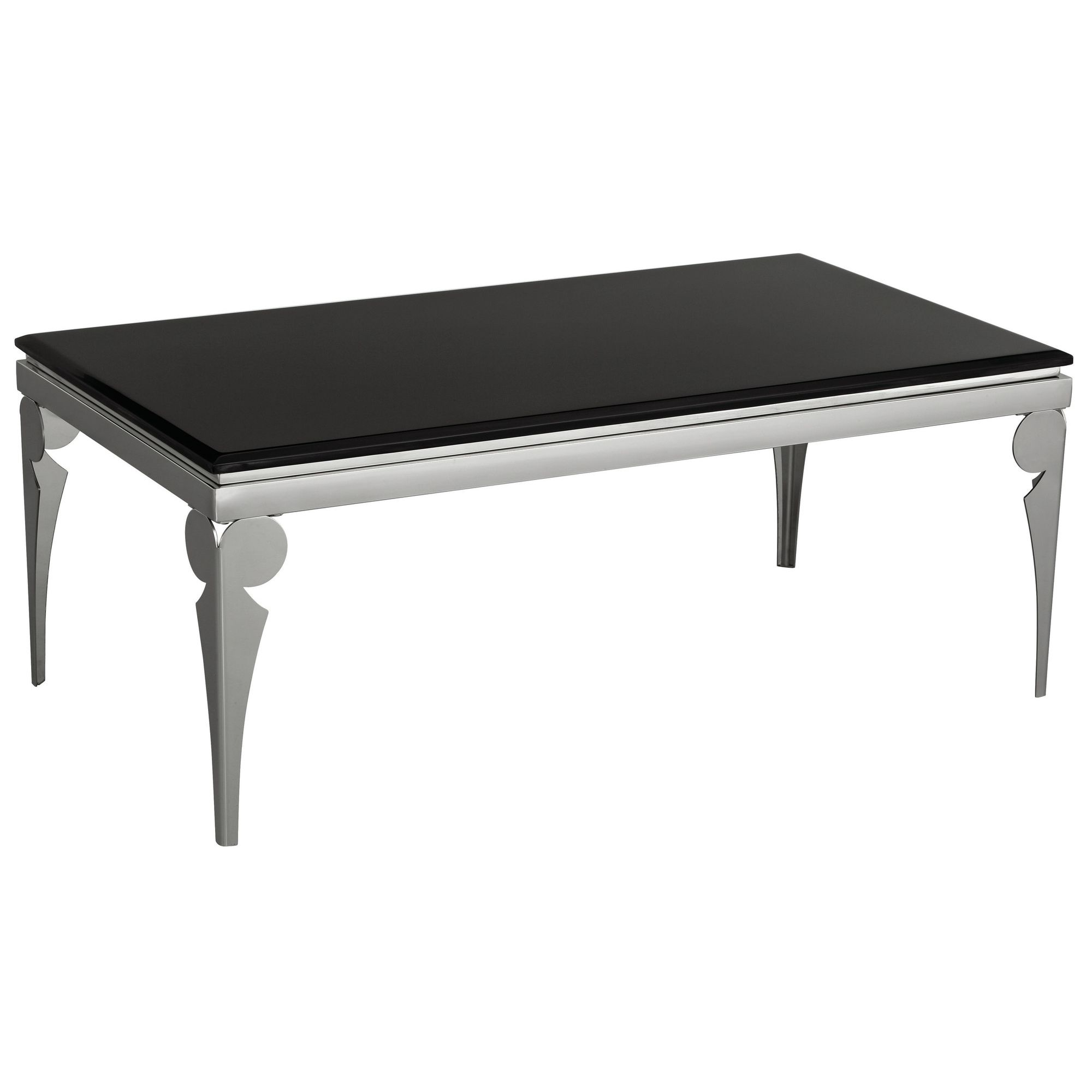 Premier Housewares Black Marble Coffee Table at Tesco Direct