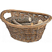 Manor Brown Willow Log Basket