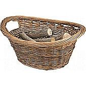 Manor Brown Willow Log Basket