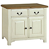 Kelburn Furniture Savannah Small Sideboard in Painted Ivory