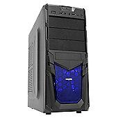 Viglen Futura Gaming Desktop PC with Core i3, Windows 10, 8GB RAM, 1TB - Black