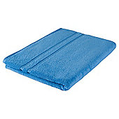 Tesco 100% Combed Cotton Bath Sheet Cotton Blue