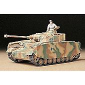 German Panzerkampfwagen IV Ausf.H Sd.Kfz.161/1 - 1:35 Scale Military - Tamiya