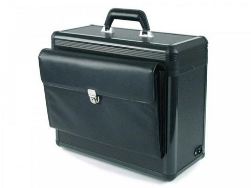 Dicota DataBox Allround XL Case for Notebook and Printer (Black)
