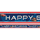 Cars Party Foil Banner - 4.5m (each)