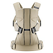 BabyBjorn Baby Carrier One (Khaki/Beige)