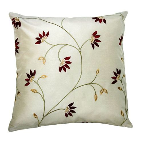 MONTGOMERY Marisa Cushion Cover in Ruby