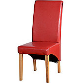 Home Essence G1 Dining Chair in Red (Set of 2)