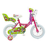 "Concept Little Cutie 12"" Girls Mountain Bike suit 3-5yrs"