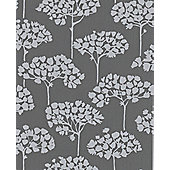 Graham & Brown SFE Sherwood Wallpaper - Grey